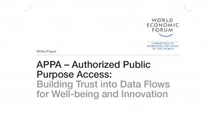 APPA – Authorized Public Purpose Access: Building Trust into Data Flows for Well-being and Innovation