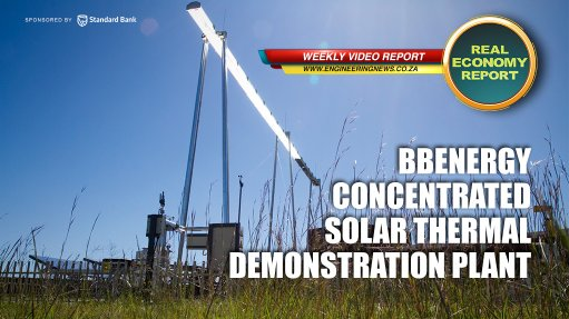 BBEnergy concentrated solar thermal demonstration plant