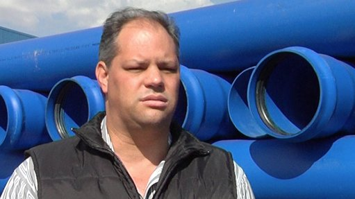 R4m in pipes supplied  to Moz irrigation project