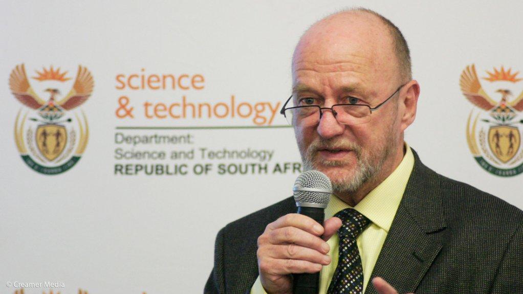 Science and Technology Minister Derek Hanekom