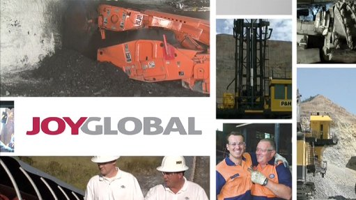 Joy Global worldwide leader in high-productivity mining solutions