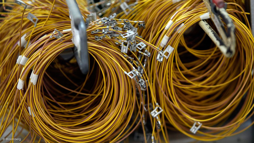 THEFT STILL HINDERING SA While the value of stolen nonferrous metals in South Africa has decreased over the past year, owing to the fluctuating copper price, the volume stolen has actually increased in some cases (Bloomberg)