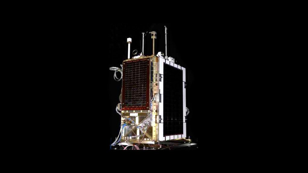 Designed and built by SunSpace – South Africa's Sumbandila microsatellite