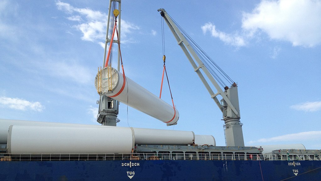 Turbine component deliveries for 138 MW Jeffreys Bay wind farm to start