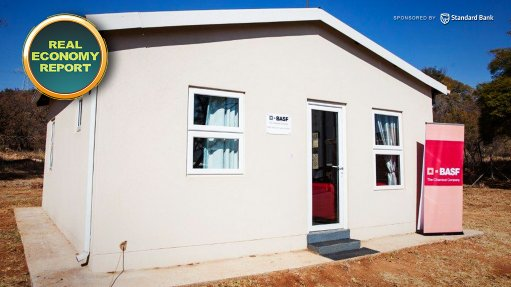 CSIR Built Environment concludes passive energy efficiency study on BASF demo house
