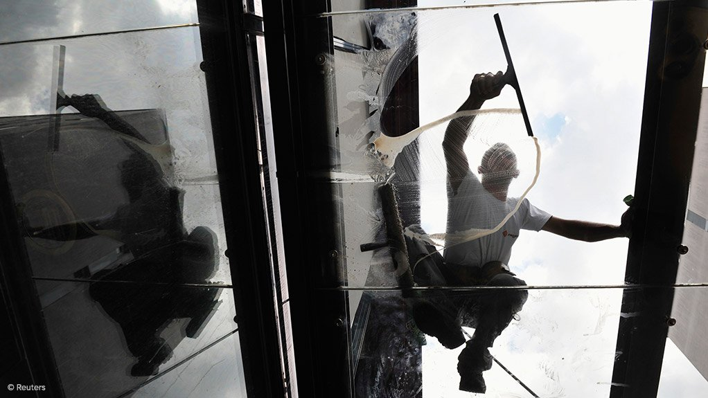 FACING CHALLENGES The major challenge influencing the industrial cleaning sector in South Africa is the unpredictable economic situation (Source: Reuters)