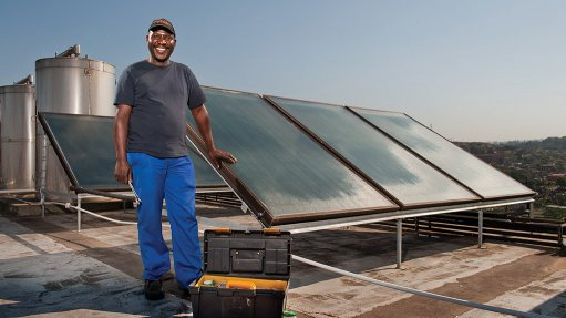 Project to supply Durban with heat pumps and solar water heaters