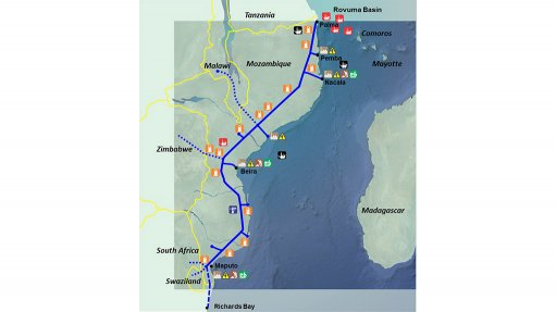 Feasibility study under way for $5bn Mozambique gas pipeline