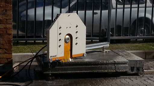 Several orders pending for advanced wall-saw range