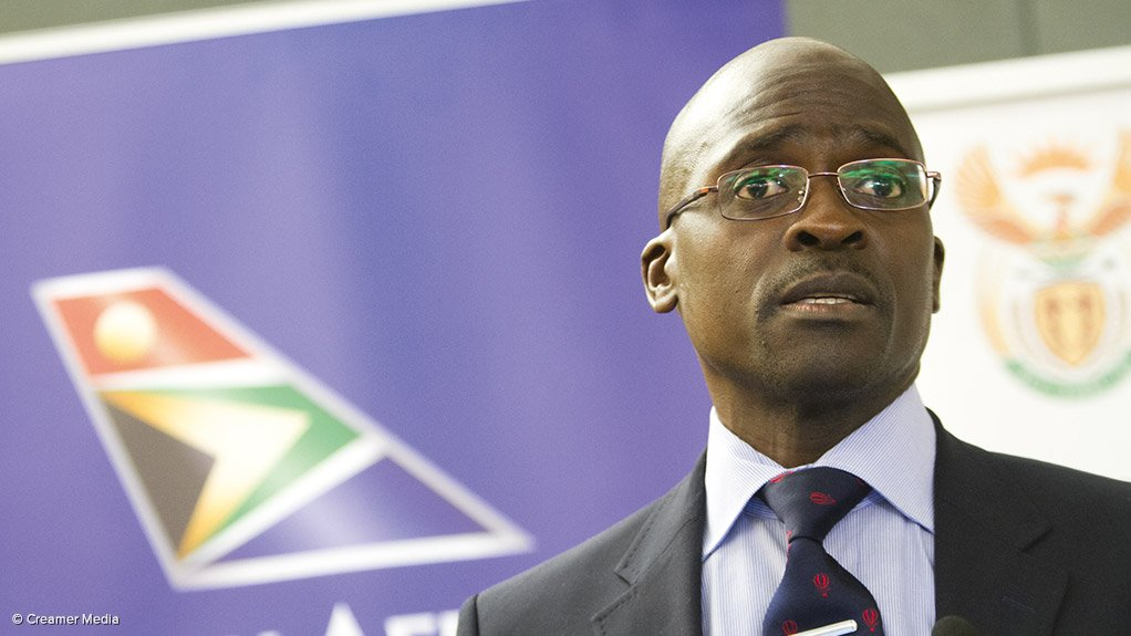 MALUSI GIGABA The Public Enterprises Minister called for a private–public partnership plan with real and meaningful partnerships between the public and private sectors in the infrastructure of the maritime sector