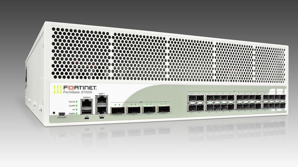 FortiGate-3700D appliance, the fastest datacentre firewall