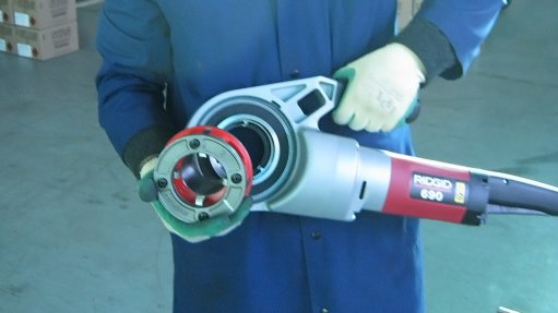 PIPE MAINTENANCE SIMPLIFIED The Ridgid 690 is an ideal maintenance tool for any industry using half-an-inch- to two-inch-diameter pipes