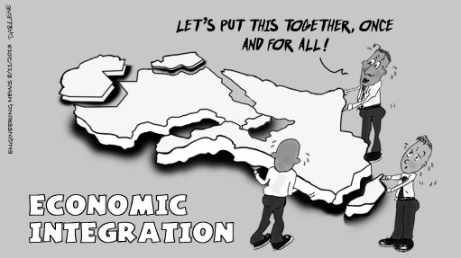 URGING INTEGRATION: