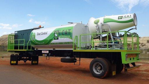Company launches dust suppression cannon