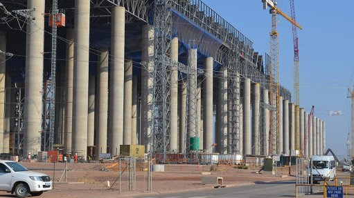 SAFETY FIRST Eskom's Medupi power station achieved over 4.62-million worker hours without a lost-time injury