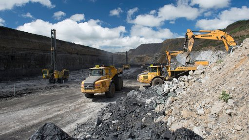 VANGGATFONTEIN MINE The opencast coal mine has delivered 1.2-million tons of washed 2- and 4-seam thermal coal to Eskom in the first half of the 2014 financial year