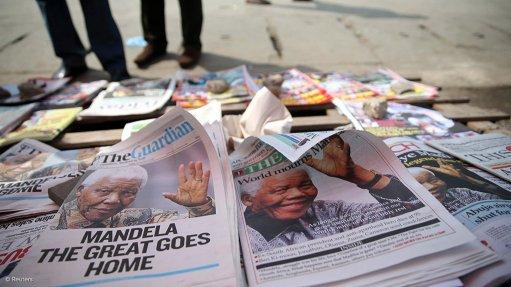 Kgosi Nyalala Pilane of Bakgatla-Ba-Kgafela sends condolences to the Mandela family
