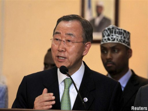UN Chief Ban Ki-moon remarks at Nelson Mandela's memorial ceremony