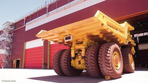 Contractors hand over huge Sishen haul truck maintenance workshop