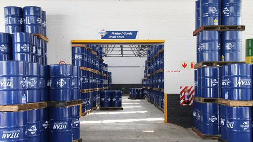Lubricants company  increases capacity
