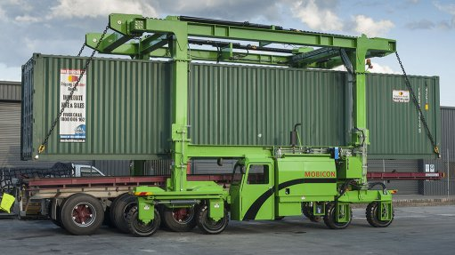 Fuel saving brought to container handling