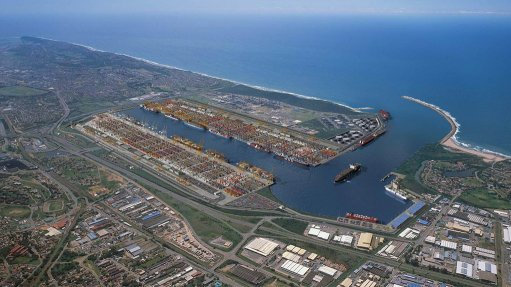 INCREASING DEMAND  The Durban container port handled 2.7-million twenty-foot equivalent units (TEUs) from 2012 to 2013 and Transnet expects the demand to grow to between 9-million and 12-million TEUs by 2040