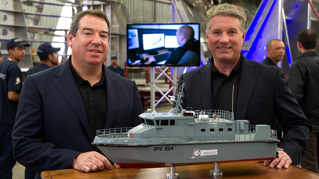 SECURING AFRICA'S SEAS Paramount's acquisition of Nautic Africa will help develop Africa's naval defence capabilities, ensuring the safety of the continents marine assets