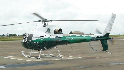 African growth providing lift for global helicopter group's SA unit