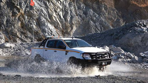 MINING SPECIFIC The Ford Ranger mine site heavy-duty double-cab pickup was developed in conjunction with mining houses and RMA Automotive South Africa