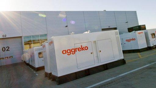 POWERING PROGRESS Aggreko's diesel generation hire fleet ranges from 20 kVA to 1 500 kVA