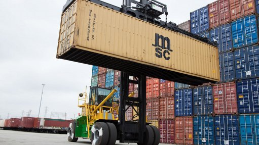 Revised container handler improves efficiency