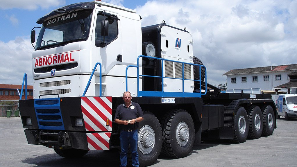TONS OF TOWING Nicolas Tractomas D100 series tractors are capable of towing 1 000 t