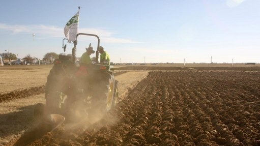 Junior ploughers also compete at Nampo