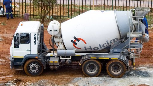 Concrete industry  showcased at local expo