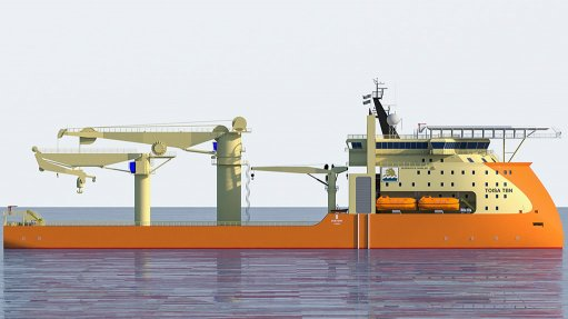Integrated solutions propel offshore  construction vessel
