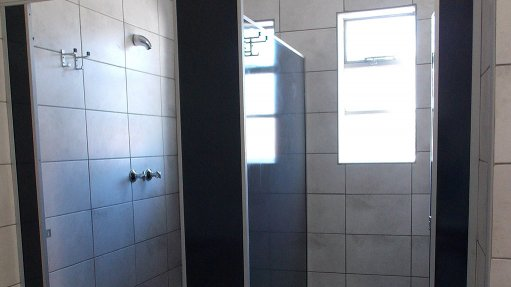 SHOWER TIME Tests have shown that vitreous enamel steel provides the best anti-bacterial protection
