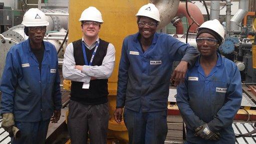 Slurry pump undergoes special testing