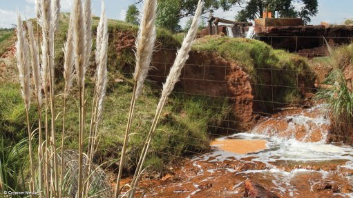 Corrosion-resistant pumps used to treat acid mine drainage