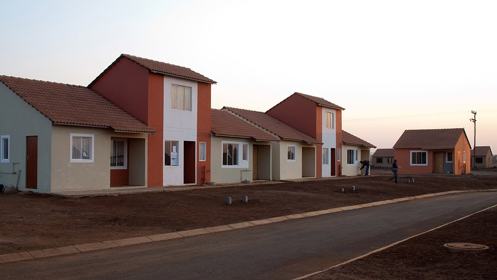 LUFHERENG INTEGRATED DEVELOPMENT Bigen Africa will service the housing stands with municipal infrastructure and construct the housing units