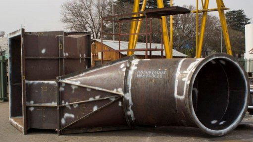 Material for boiler ducting supplied to power stations