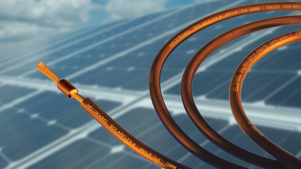 SOLAR SUPPLY Helukabel supplied more than three-million metres of its Solarflex PV1-F solar cable to solar energy projects in South Africa