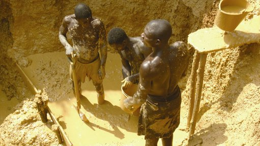 ILLICIT ACTIVITIES Illegal mining leads to the illegal occupation of land, illegal power and water connections, pollution, and the degradation of the natural environment