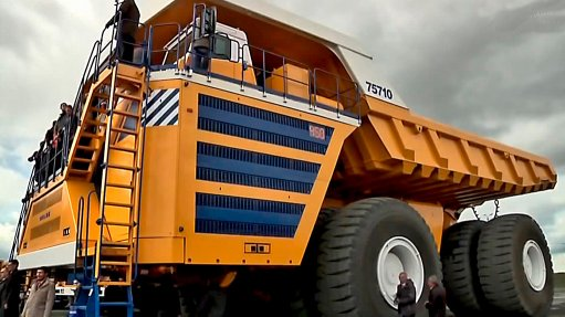 Dump truck makes  it into Guinness Book  of Records