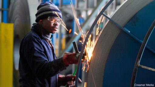 POSITIVE TRENDS The metals and engineering sector recorded encouraging production and capacity use trends during the first quarter of this year