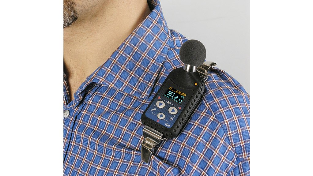 NOISE MONITORING The Svantek SV104 provides data required for the appropriate selection of hearing protection