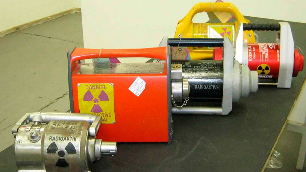 SAFE HANDLING OF RADIOACTIVE SOURCES The safety of radioactive sources in transit is imperative
