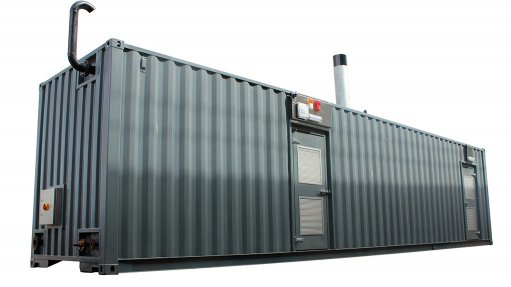 Increased demand  for containerised  steam plants