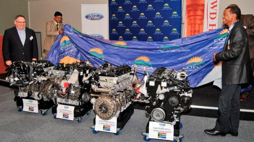 Engines donated to empower skills development