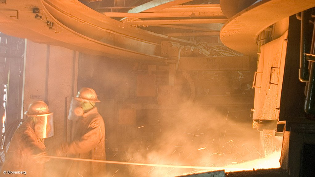 Jubilee's Middelburg smelter swings to Q2 profit