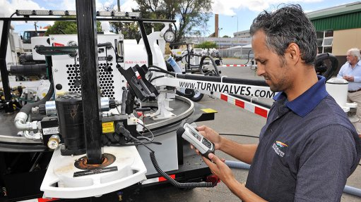 City of Cape Town benefits from valve maintenance machines